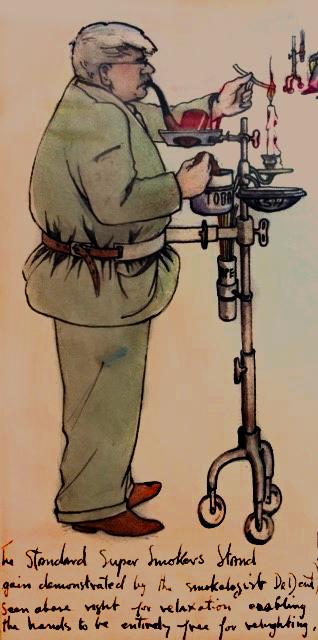 John Dent cartoon by his daughter Ann Dent.